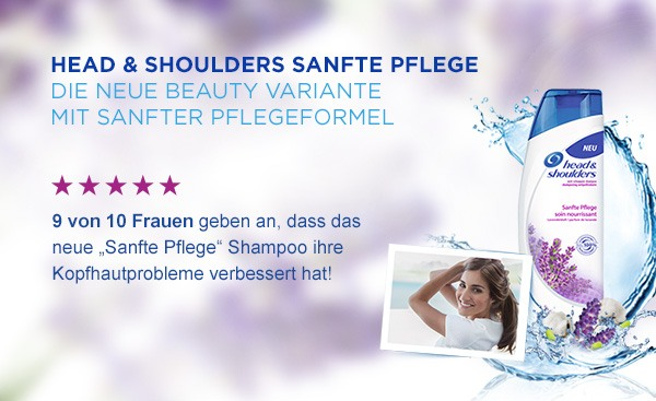 Head and Shoulders Sanfte Pflege