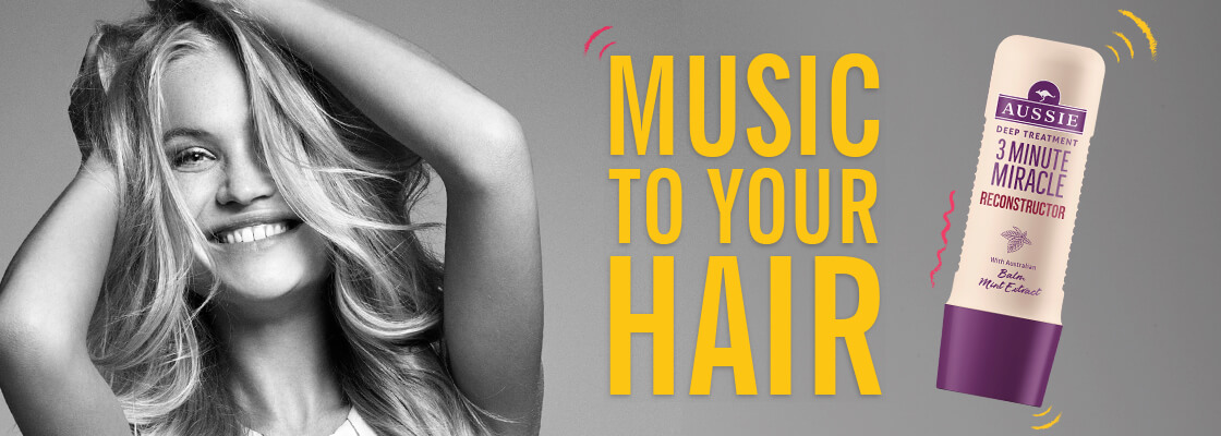 Music to your hair