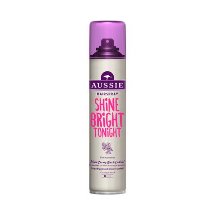 Shine Bright Tonight Hairspray