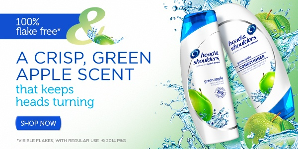 Green Apple Shampoo and Conditioner