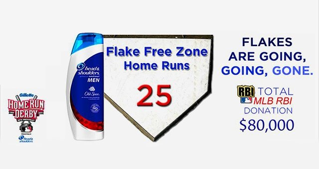 Flake Free Zone at Home Run Derby