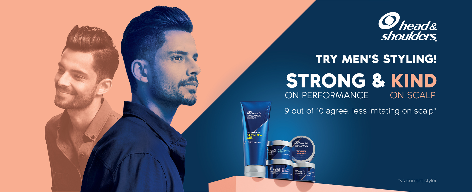 Try New Men's Styling! Strong & Kind