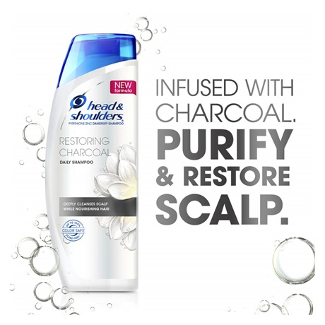 White Charcoal Shampoo | Head & Shoulders