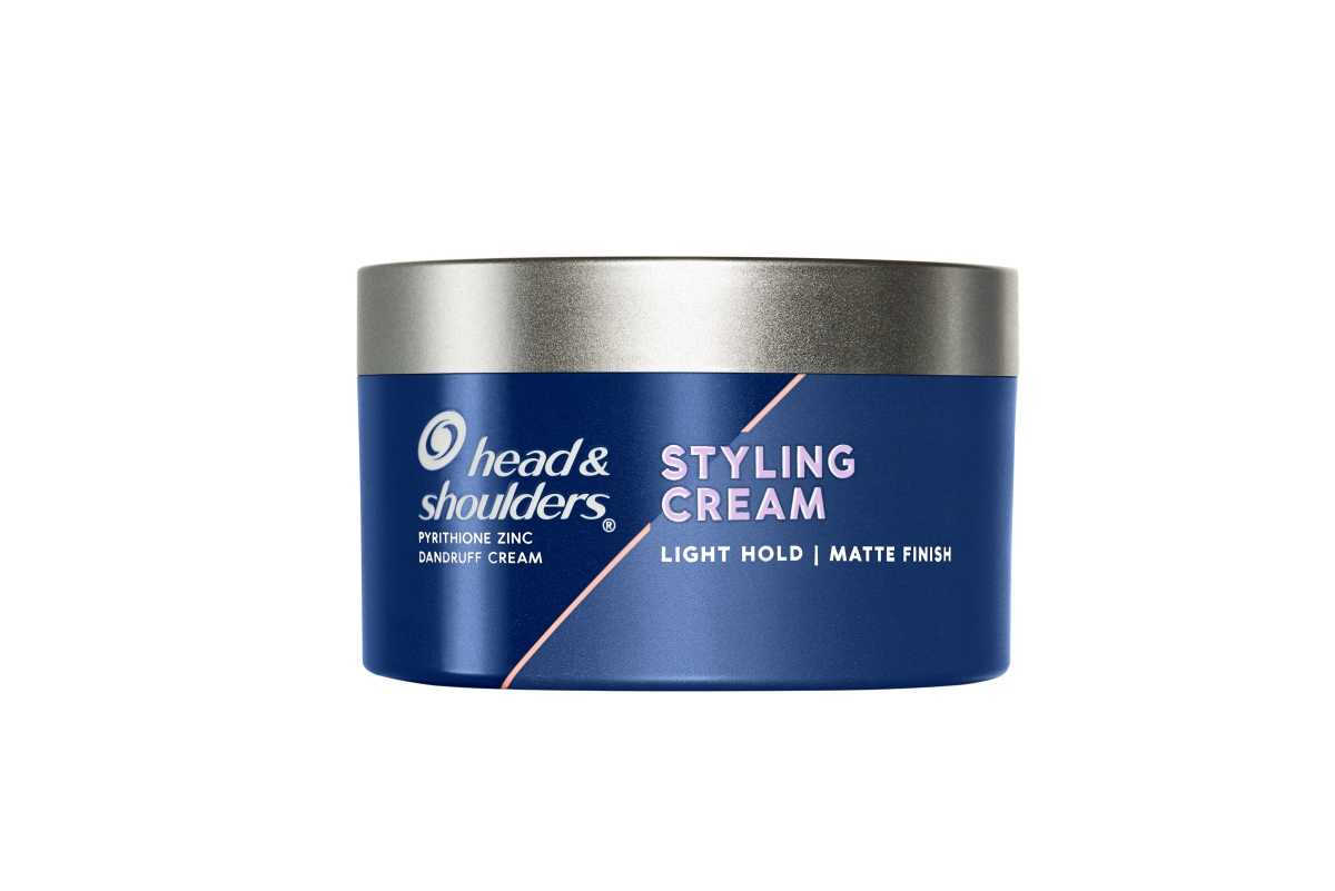 Head And Shoulders Styling Cream Light Hold Matte Finish Easy To Wash Off
