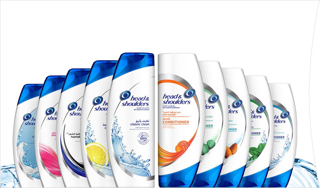 Browse All 11 Head & Shoulders Collections