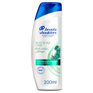 Itchy Scalp Care with Eucalyptus Shampoo