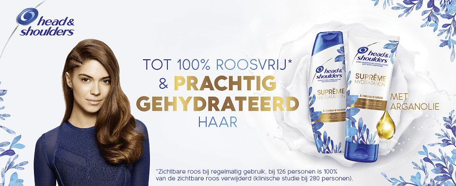 Antoine Griezmann is ambassadeur van head and shoulders N1 shampoo