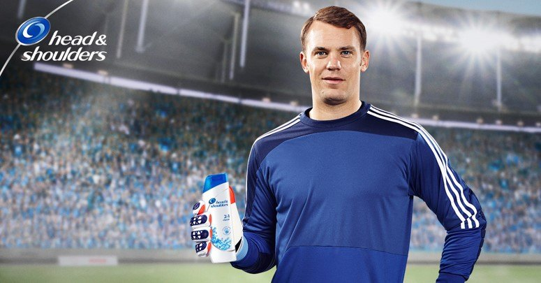 Hart, Casillas and Neuer for Head & Shoulders
